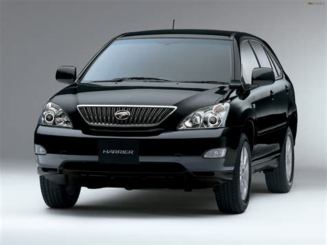 pictures of toyota harrier 1997 toyota harrier pictures information and specs