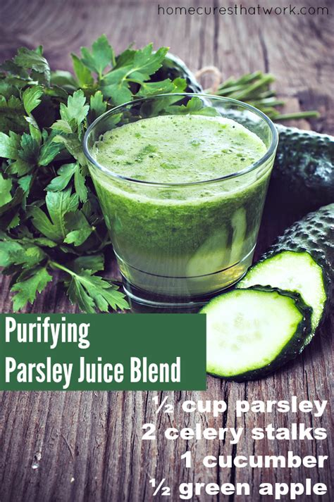 Parsley Detox Kidneys by Kidney Cleanse For Ultimate Renal Health
