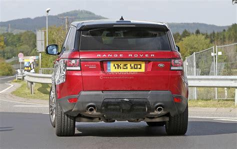 Range Rover Sport 2017 Facelift by 2017 Range Rover Sport Facelift Spied Inside Out