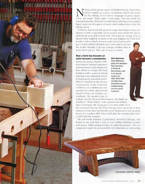 nick offerman everything s fine best 20 nick offerman woodworking ideas on pinterest