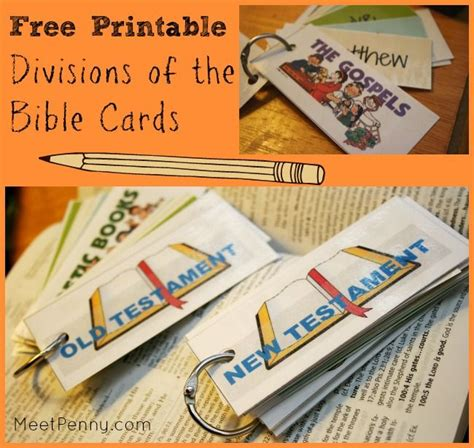 Sections Of The Bible by Printable Divisions Of The Bible Cards Division The Bible And Free Printable