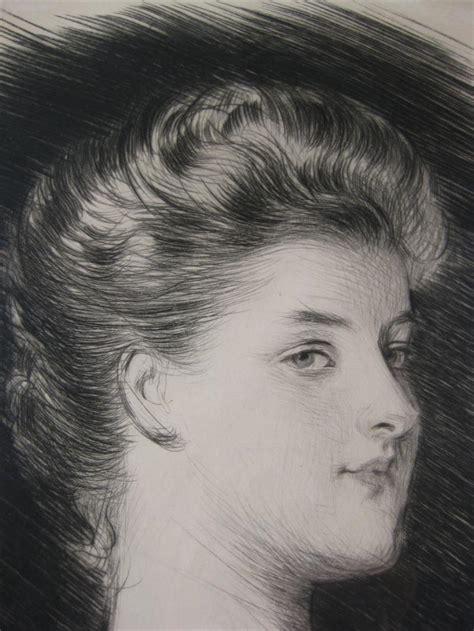 D Audiffret by Igavel Auctions Paul Cesar Helleu 1859 1927 La