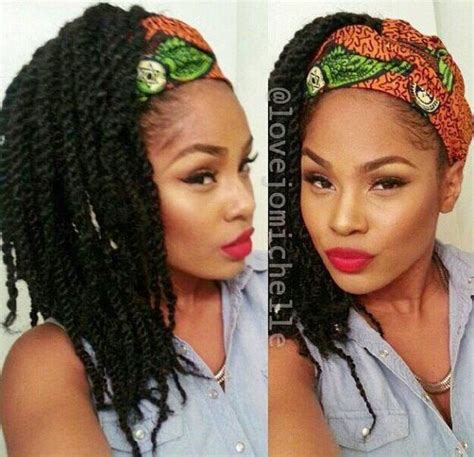 senegalese twist with headband on your forehead pinterest the world s catalog of ideas