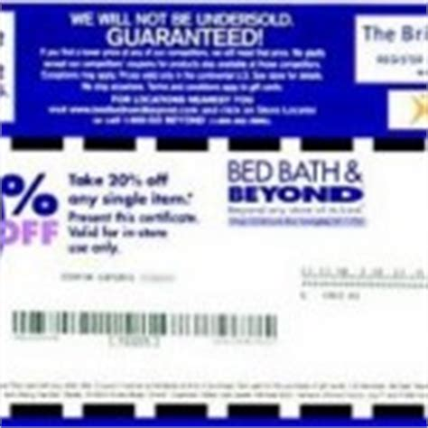 bed bath and beyond coupons 2015 iphone bed bath beyond 20 off printable coupon 2017