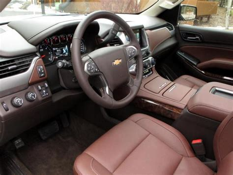 Chevy Suburban 2015 Interior by Chevy Mylink Canada Autos Post