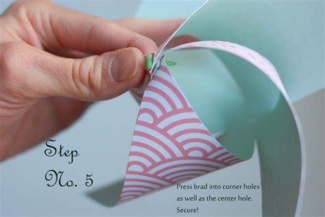 How To Make A Pinwheel With Paper - paper pinwheel the sweetest occasion the sweetest occasion