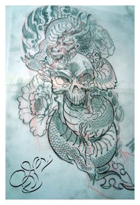oriental design by wizyakuza on deviantart dragon tattoo drawings flower dragon tattoo by griffling