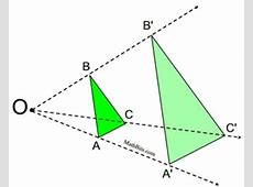 Dilations and Lines - MathBitsNotebook(Geo - CCSS Math) Dilatation Meaning