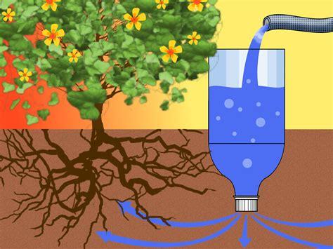 ways    drip irrigator   plastic bottle