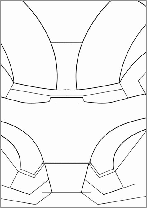 iron suit template gallery of pepakura iron ironman pelautscom
