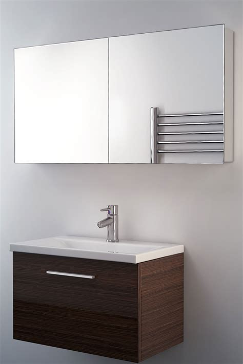 non illuminated bathroom mirrors neptune non illuminated bathroom mirror cabinet k140 ebay