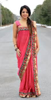 saree draping style image gujarati style saree draping download