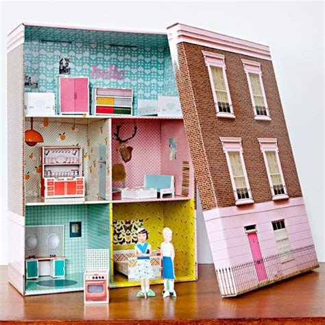 cardboard dolls house best 25 paper doll house ideas on pinterest cut paper folding house and legal size