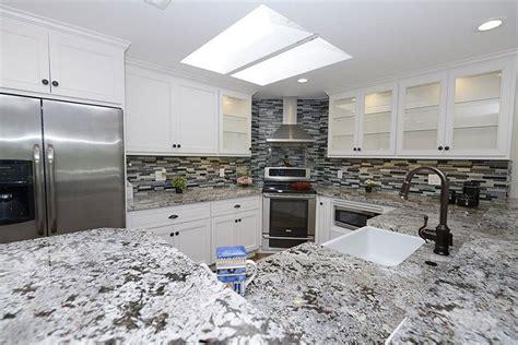 alaska white granite with white cabinets alaska white granite countertops design cost pros and cons