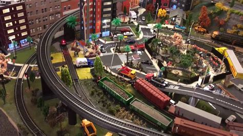 ho layout youtube ho model train layout with mountain city and bridges