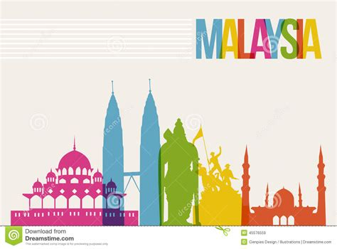 backdrop design kuala lumpur malaysia clipart pencil and in color malaysia clipart