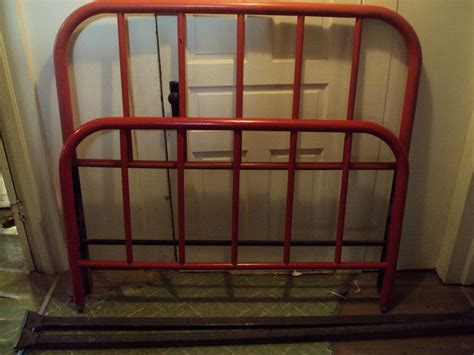 Iron Full Size Bed Frame 1000 Ideas About Bed Frame Rails On Pinterest Sleigh