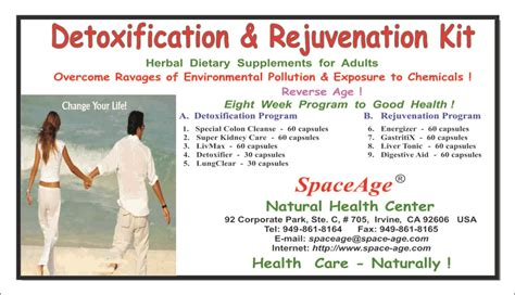 Detox And Test Clinics by Detoxification Rejuvenation Kits