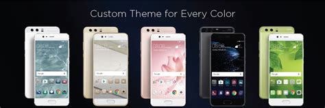 huawei custom themes huawei p10 the 2017 smartphone oozing with style
