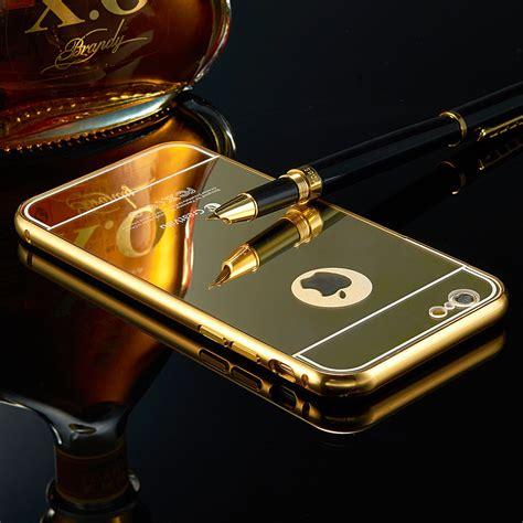 gold ultra thin mirror metal iphone 6 iphone 6s regular