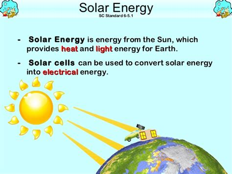 converting to solar energy forms of energy