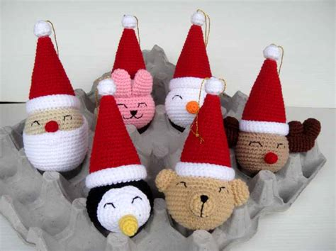 crochet christmas ornaments pattern free patterns