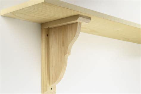 Wood Shelf Brackets Uk by Wooden And Shelf Brackets From The Oxford