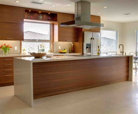 wood veneer kitchen cabinets contemporary kitchen remodel contemporary kitchen