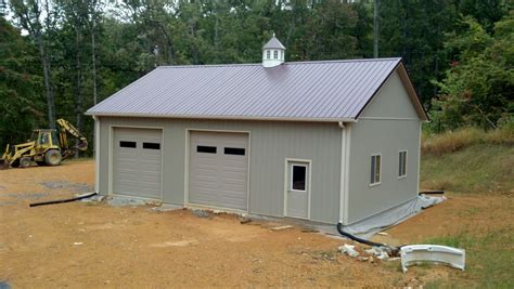 Pole Building Garages by 30x40x12 Residential Garage In Va Rcn12012