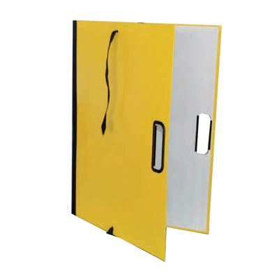 punto e virgola ufficio sta cpd50gi cartella porta disegni con manico 50x70 giallo
