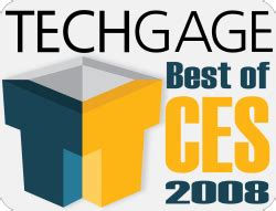 Cews 2008 Awards by Best Of Ces 2008 Techgage