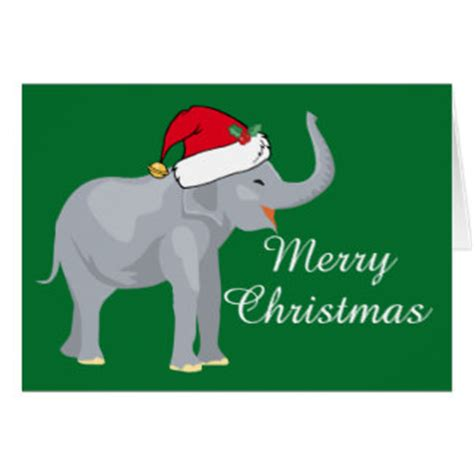 images of christmas elephants christmas elephants cards zazzle