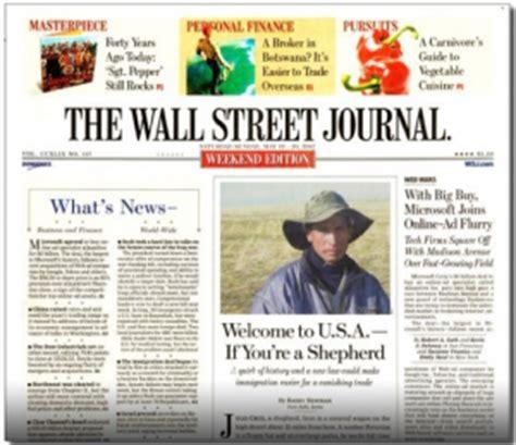 wall street journal section c 2012 november talking biz news