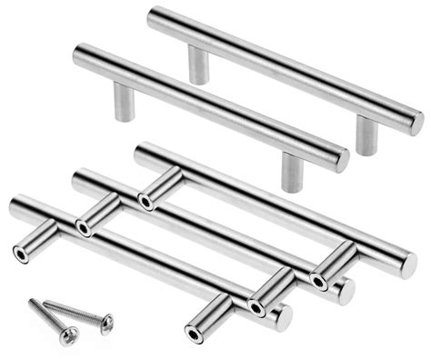 128mm stainless steel t bar handle kitchen cup board 96mm stainless steel t bar handle kitchen cup board
