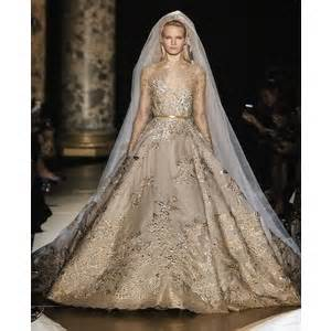 The Haute Couture Bridal Gowns Chanel Vs Elie Saab Polyvore