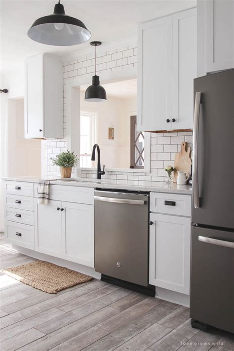 kitchen makeover cabinets love grows wild