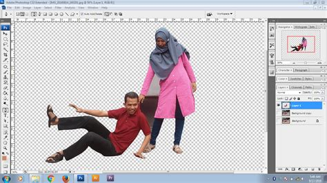 cara edit foto transparan photoshop cs3 cara mudah mengedit foto mini people dengan photoshop cs3