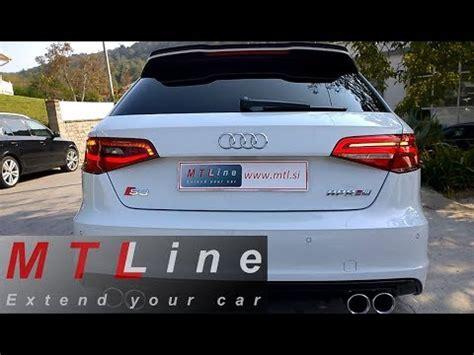 audi a3 sportback led lights rear facelift led lights with dynamic blinkers retrofit to