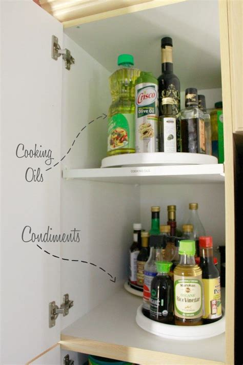 organize cabinets quot how to organize your kitchen quot organizing a deep pantry