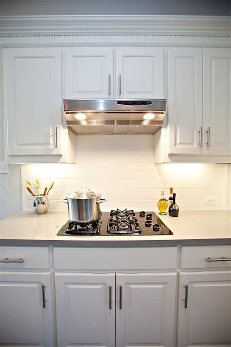 subway tile backsplash contemporary kitchen studio