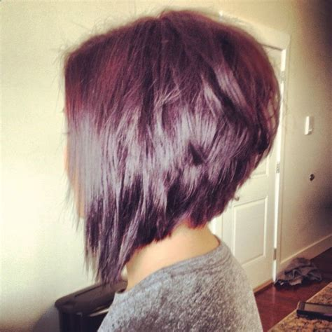 inverted bob hairstyle pictures rear view inverted bob hairstyle back view orchid and merlot with
