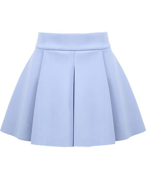 7 Reasons To High Waisted Skirts by Blue High Waist Ruffle Flare Skirt Flared Skirt And High