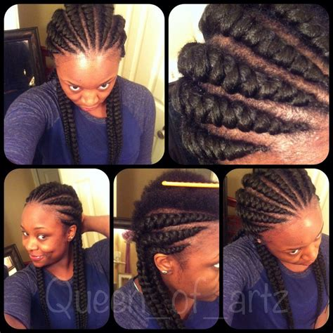 large cornrow bun styles large ghana cornrow braids hair xpressions braiding