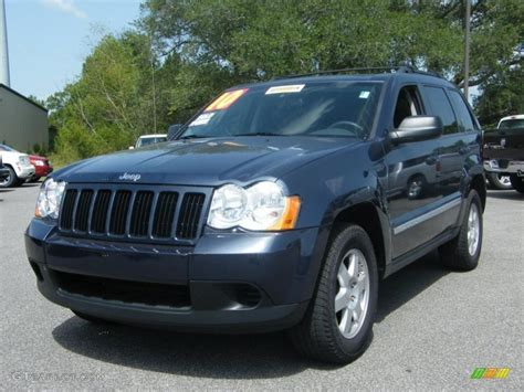 2010 Modern Blue Pearl Jeep Grand Laredo
