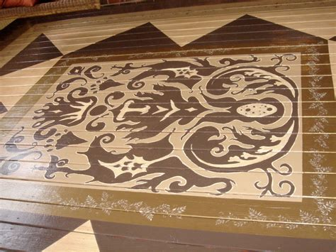 Decorative Floor Painting Ideas Painted Floors Nashville Tn Stained Concrete Nashville Tn