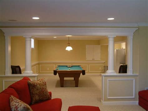 cool finished basement basement pinterest
