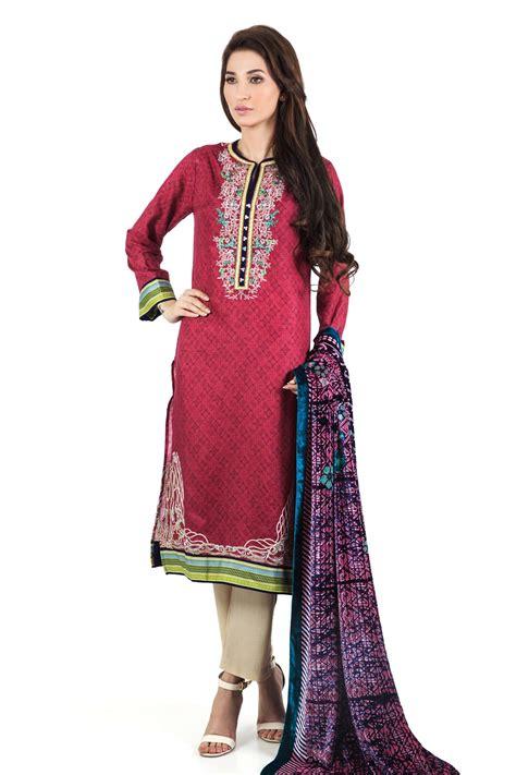 alkaram winter dresses collection   catalog