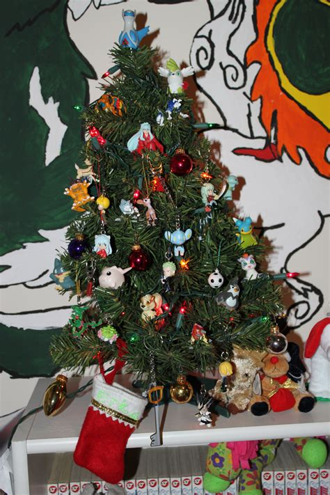 my anime christmas tree by yunastrife on deviantart