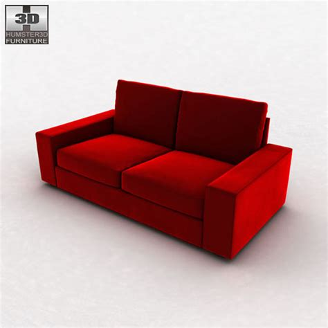 kivik sofa review ikea kivik two seat sofa 3d model humster3d