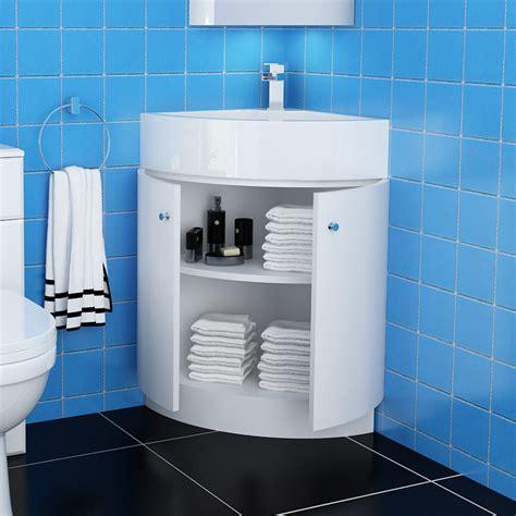 bathroom storage corner unit white bathroom corner vanity unit ceramic basin sink